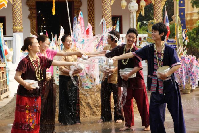 Turismo de Tailandia_Songkran Festival, Chiang Mai