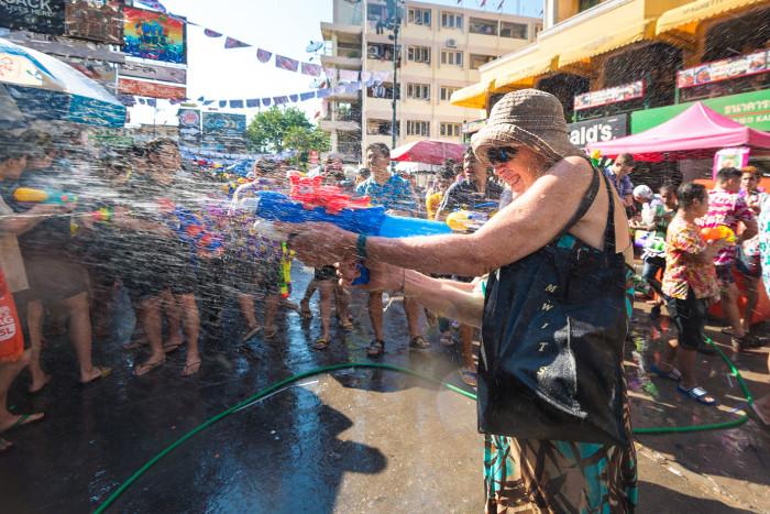 Turismo de Tailandia_Songkran Festival at Khao San Road, Bangkok