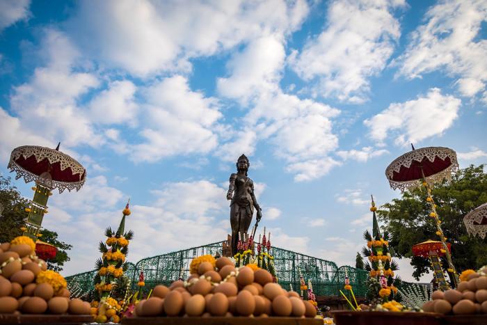 Turismo de Tailandia_Phranang Chammathewi Momument, Lamphun