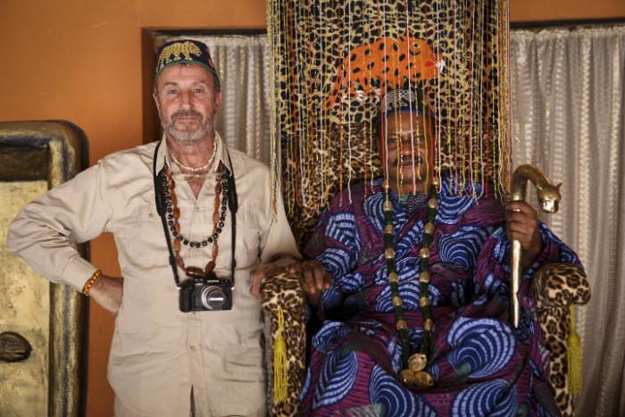 Benin – Con el Rey Yeto Kandji en su palacio