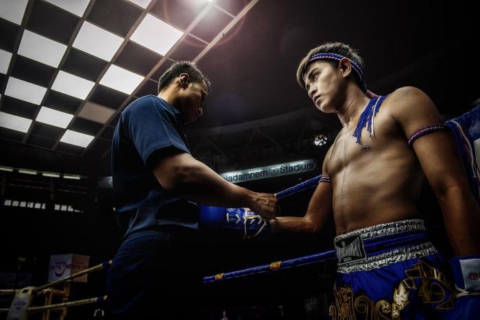 Turismo de Tailandia_Muay Thai (Thai Boxing) at Rajadamnern Stadium, Bangkok