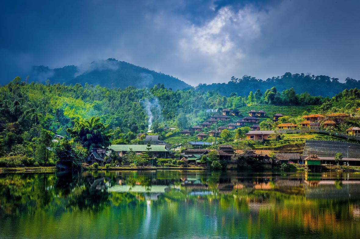 Turismo de Tailandia_Ban Rak Thai Yunnan Chinese Village, Mae Hong Son