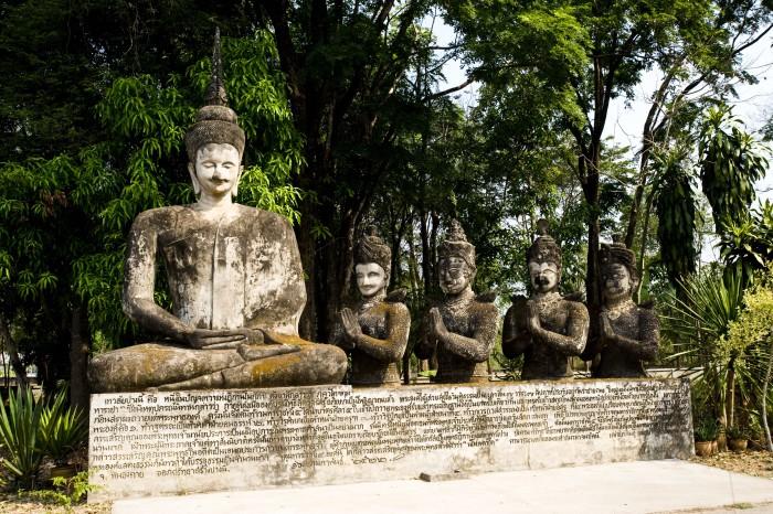 Turismo de Tailandia_Sala Kaeo Ku or Khaek Temple   Nong Khai