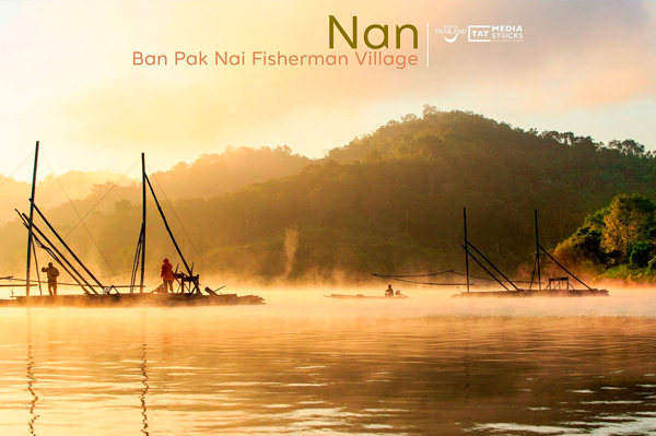 pueblo pesquero de Ban Pak Nai