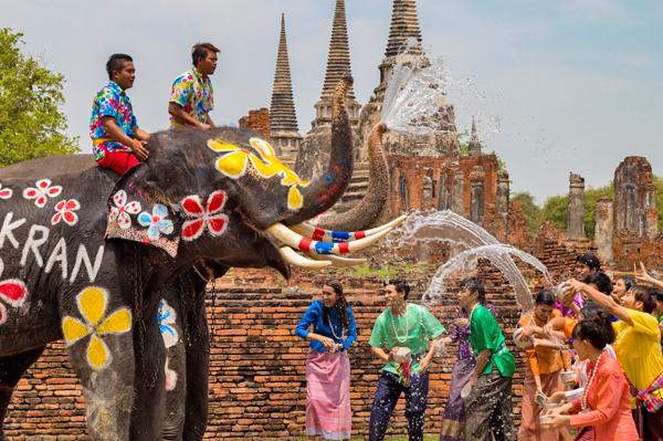 Festival del Songkran 2019