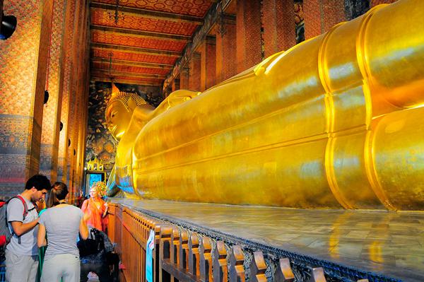 Wat Pho el  monumento #1 en Tailandia y #17 en el mundo, según Tripadvisor