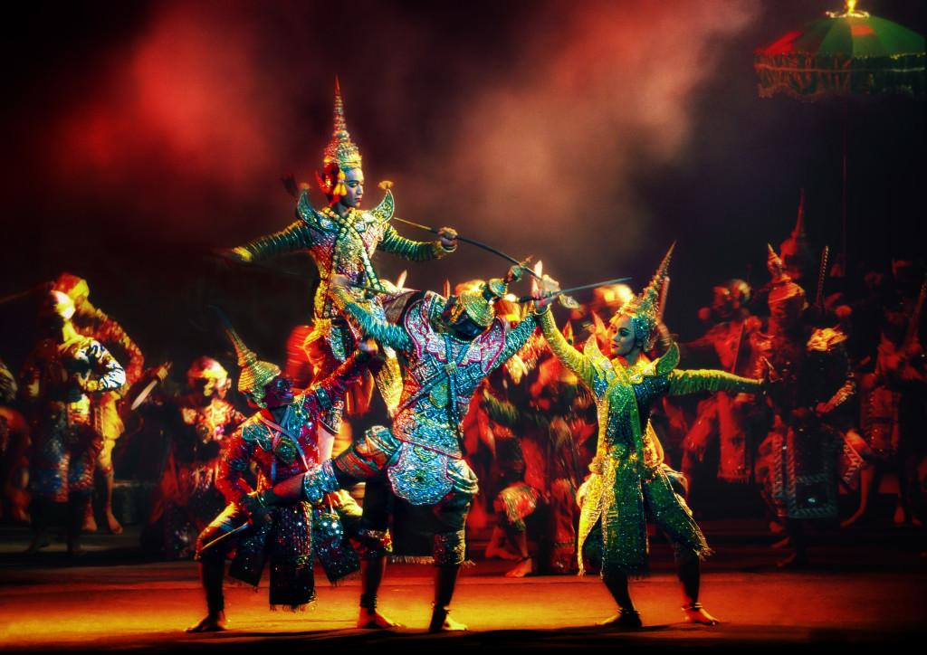 Khon Performance, Bangkok, Tailandia