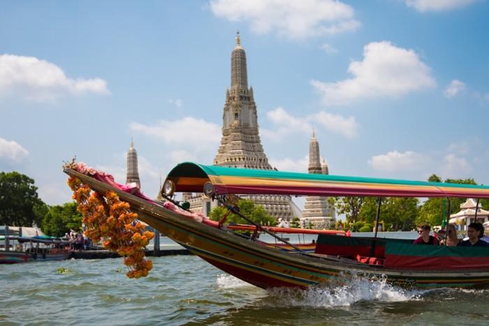 Turismo de Tailandia - Bangkok - Wat Arun