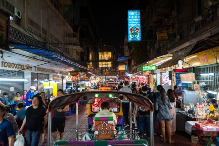 Turismo de Tailandia - Bangkok - Yaowarat Road