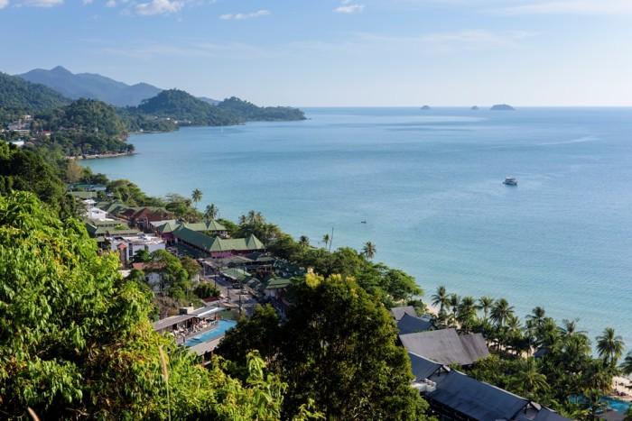 Turismo de Tailandia - Koh Chang vistas