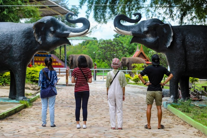Safari Park Open Zoo&Camp, Kanchanaburi