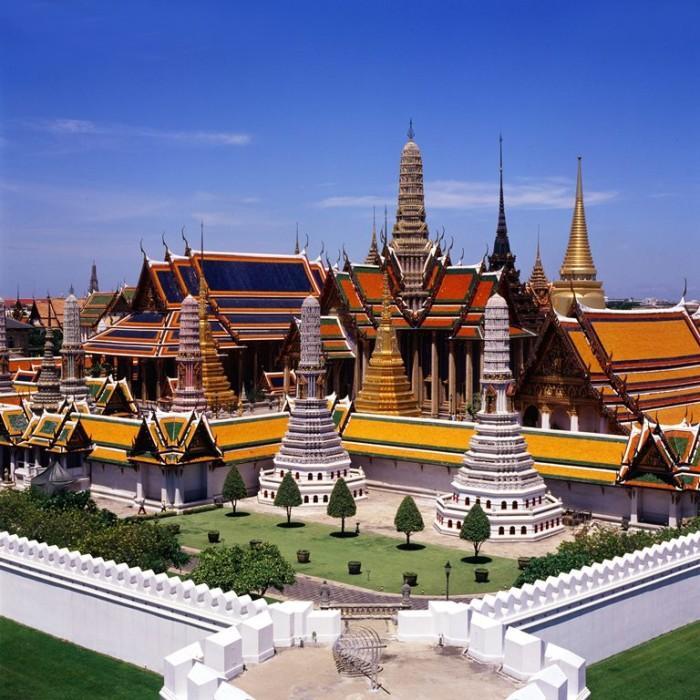 Turismo de Tailandia - Bangkok - Gran Palacio