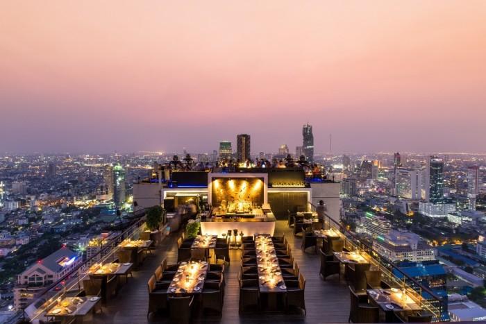 Turismo de Tailandia - Banyan Tree Bangkok - Vertigo and Moon Bar
