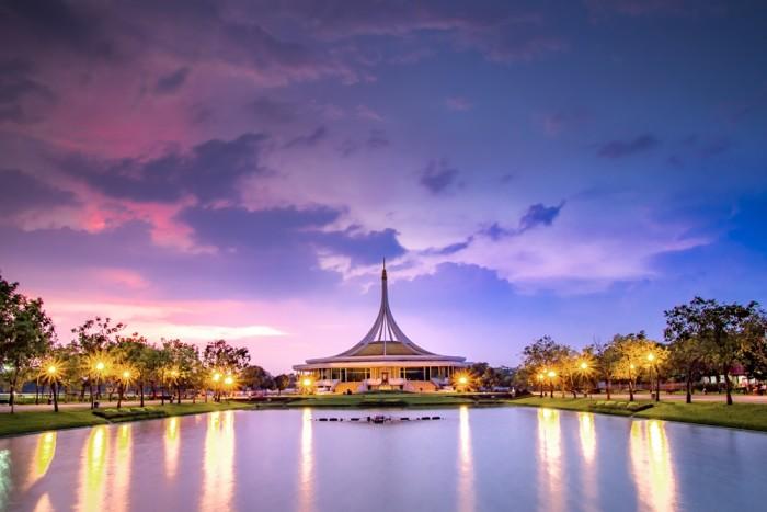 Turismo de Tailandia - Bangkok - Suan Luang Rama IX