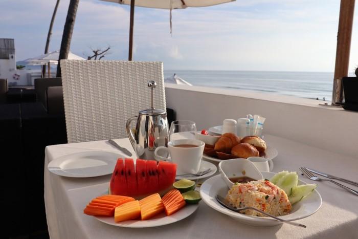 Turismo de Tailandia - Aava desayuno