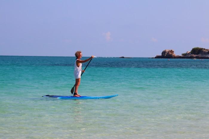 Turismo de Tailandia - Paddle Surf Paradee
