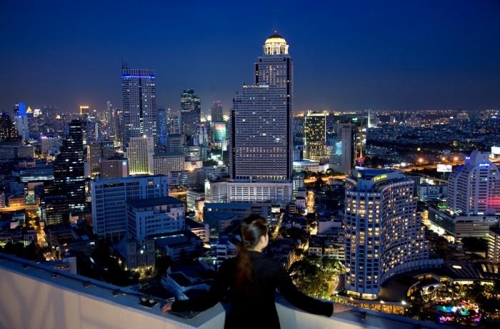 Turismo de Tailandia - Alvaro Arriba - Bangkok de noche