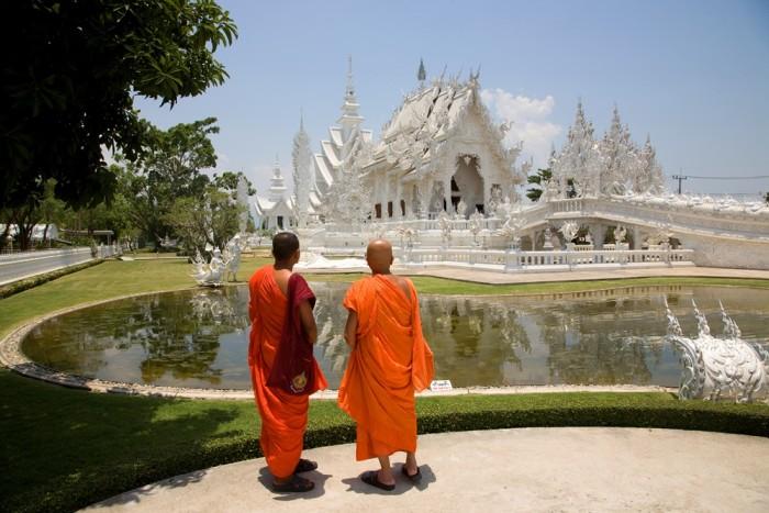 Tailandia. Chiang Rai. Wat Rong Khun
