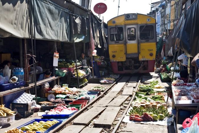 Turismo de Tailandia - Alvaro Arriba - Mercado