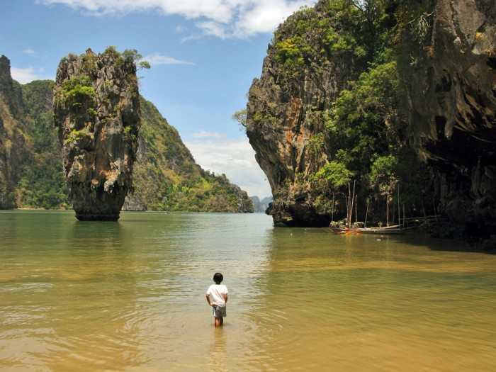 Tailandia. Phuket. Isla de James Bond