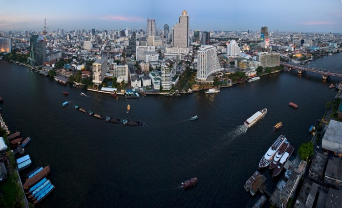 Turismo de Tailandia - Alvaro Arriba - panorámica Bangkok