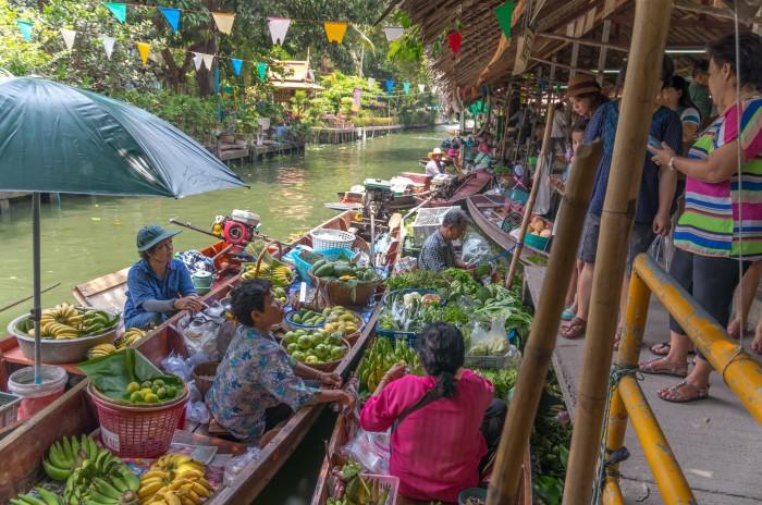 Turismo de Tailandia - Mercado