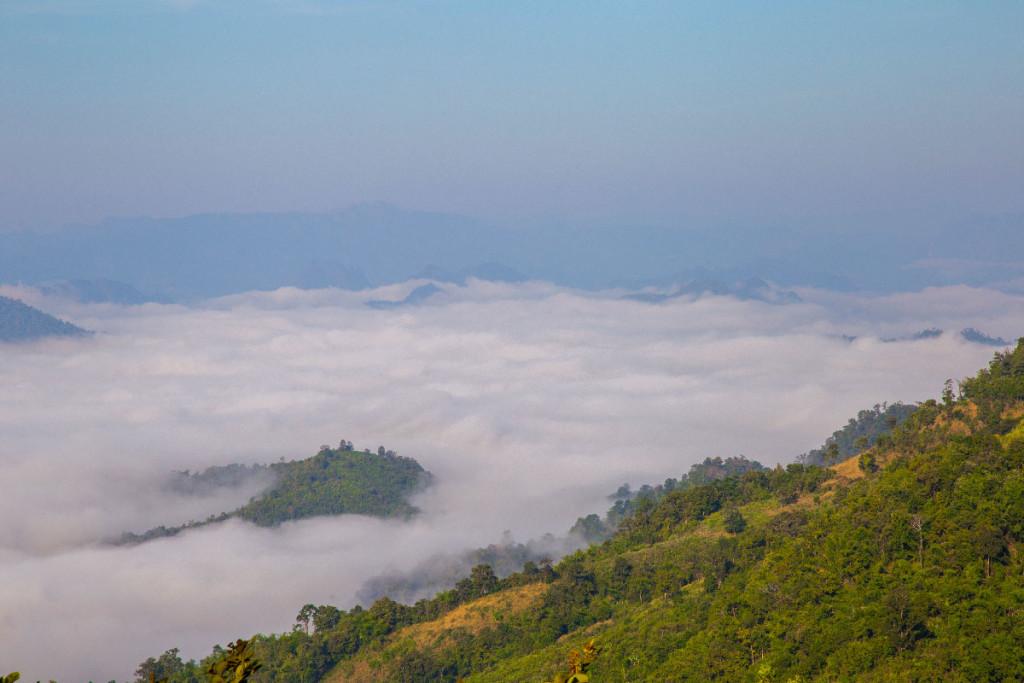 Parque nacional de Mae Moei (Tha Song Yang) - Mares de Niebla