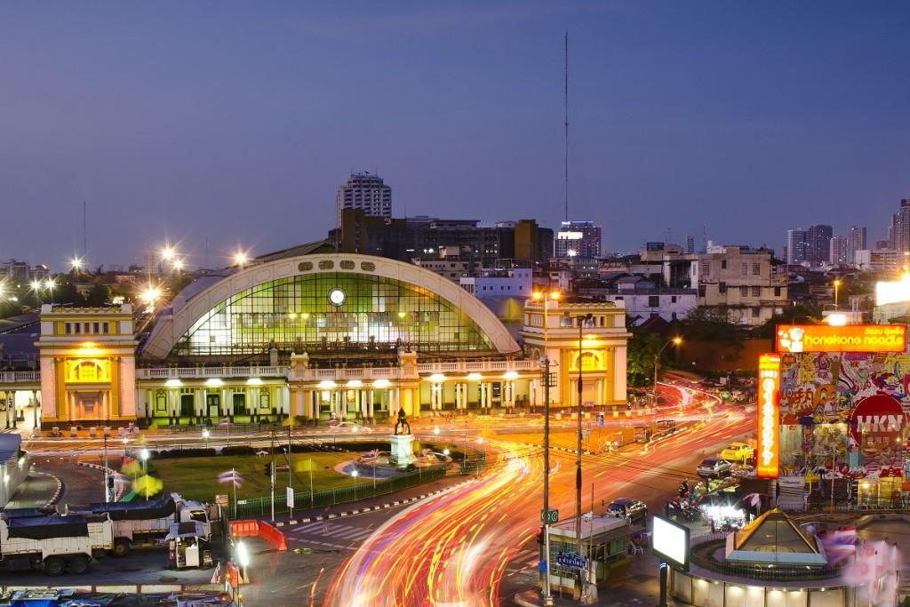 Estación Hua Lamphong de Bangkok
