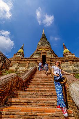Tailandia presenta un itinerario para invidentes por varios puntos del país