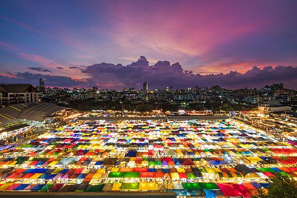 Bangkok desde sus mercados