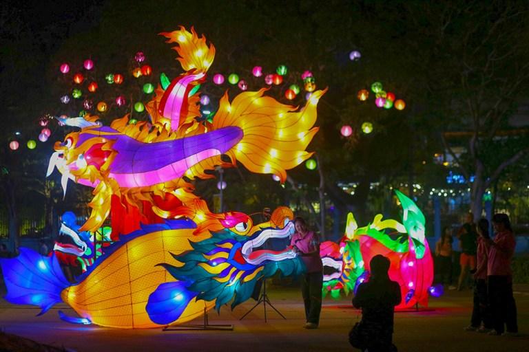 Nakhon Sawan - Festival de las Linternas