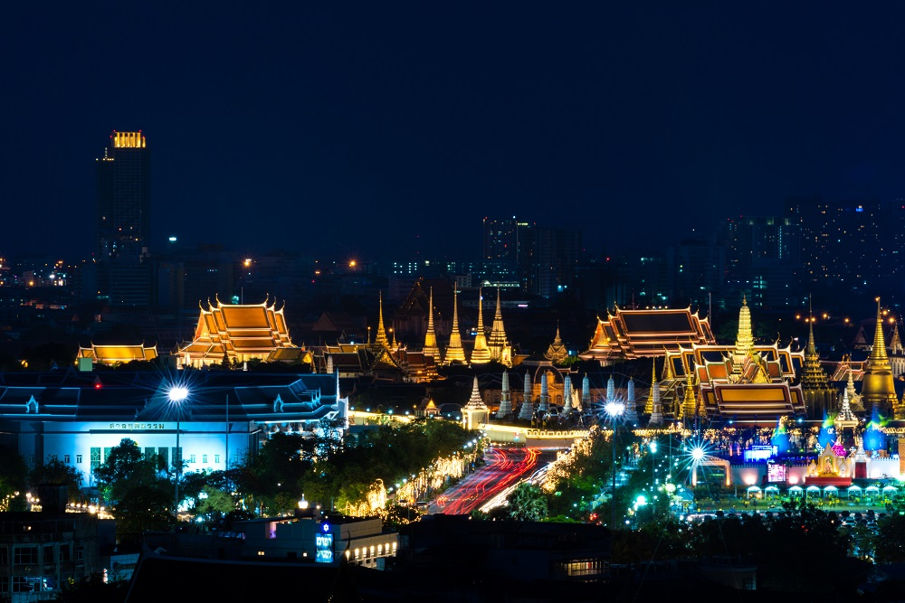 Bangkok de noche